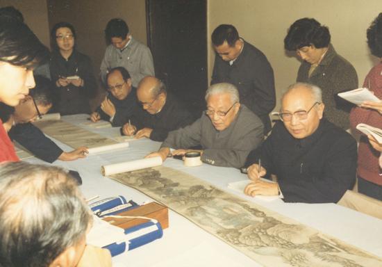 1985年11月 上海博物館 楊健供稿