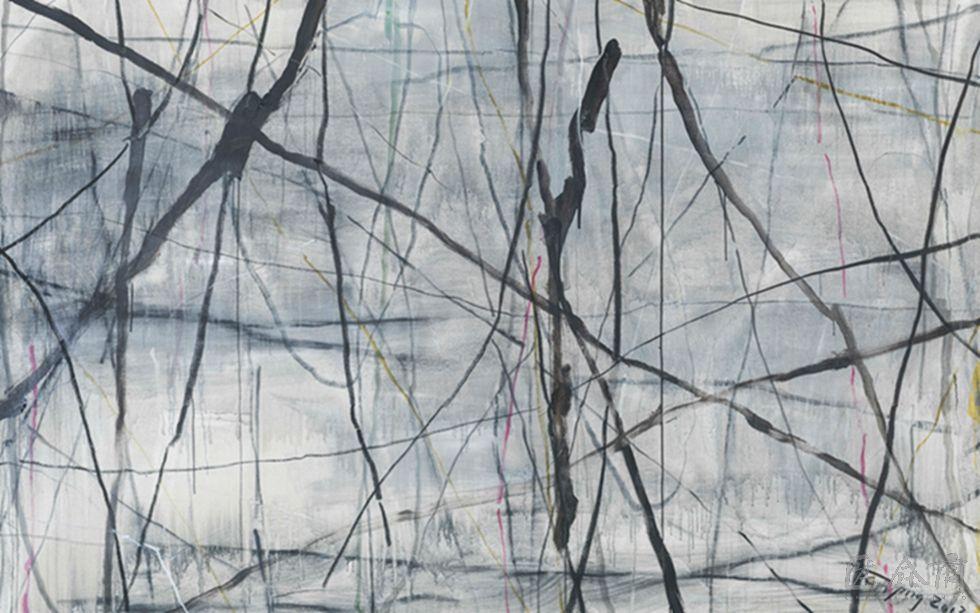 谭平的抽象绘画